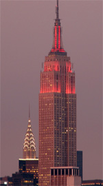 Empire State Building de Nuit - East Midtown Manhattan
